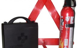 SET Warning Triangle-Fire Extinguisher-First Aid Kit